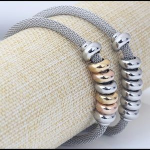 Jewelry - Stainless Steel Bracelet Gold Rosegold Silver